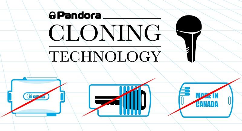 Pandora cloning