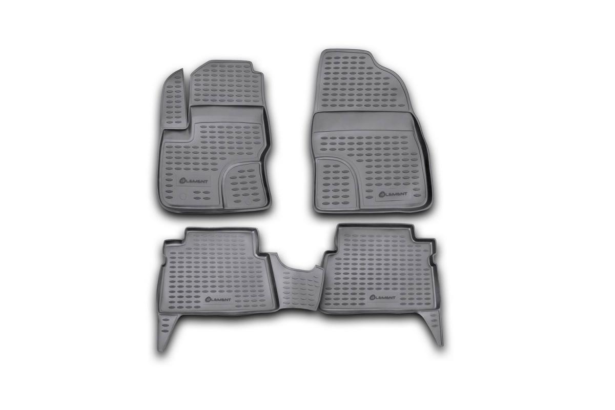 Ford - Коврики в салон и багажник Форд Фокус 3