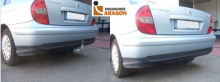 Фаркоп на CITROEN C5 I Phase I (5 Doors), 2001-08/2004, тип шара: F (S)